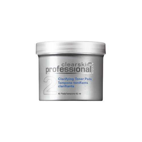 Avon Clearskin Professional Clarifying Toner Pads 13060