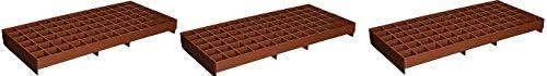 Grodan RW205002 GL56707445 GRO-Smart Tray, 78-Cell, Terracotta 3