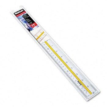 Westcott® Data Highlighting Ruler RULER,LINESITE,15