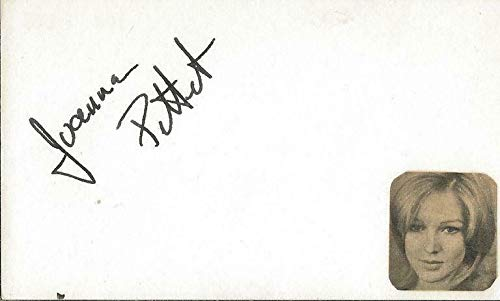 Joanna Pettet Signed Vintage 3x5 Index Card Casino Royale - JSA Certified from HollywoodMemorabilia