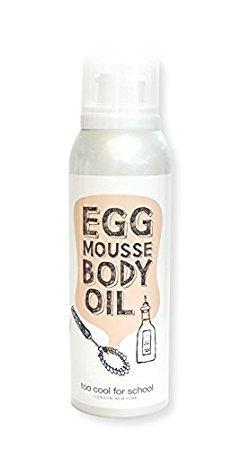 [too cool for school]EGG MOUSSE BODY OIL 150ml korean beauty (School Oil)