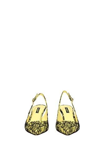 Sandali Dolce E Gabbana Pizzo Donna (c19035af255) Eu Giallo