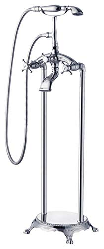 Kardiel HB-FSF-LONDONCALLING London Calling Freestanding Classic Tub Faucet, Chrome with Hand ()