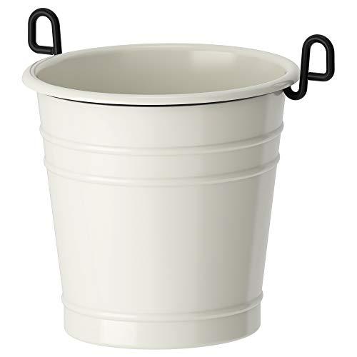 IKEA 002.020.79 Fintorp Utensil Holder, White, Black