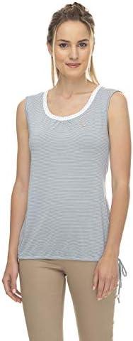 Ragwear EIREEN damska koszulka top, wegańska moda: Odzież