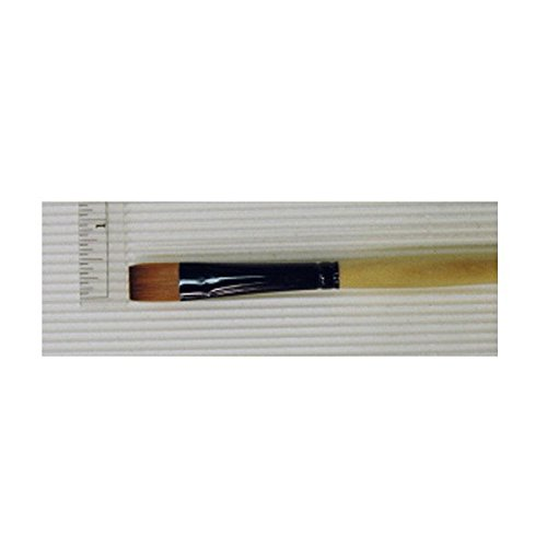 Dynasty Black Gold Series Long Handled Synthetic Brushes 6 bright 1526B by Dynasty