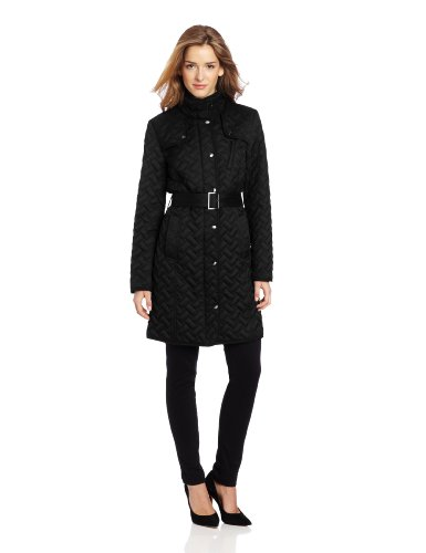 Cole Haan Women's Signature Belted Quilt Jacket