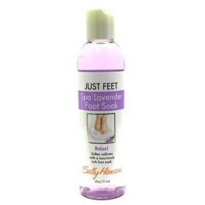Just Feet Spa Lavender Foot Soak Relax By Sally Hansen 6 Oz/ 117.4ml