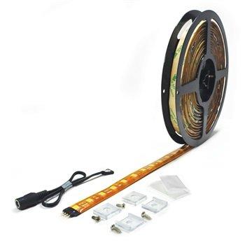 Nora Lighting NUTP5-16LED30 16 ft. 24V Damp Label Hy-Brite LED Tape Light Roll, 3000K CCT