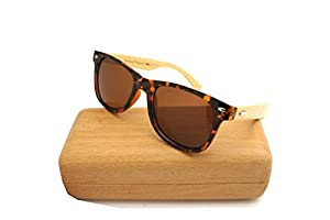 NEW ColorViper Real Tree Bamboo wood Temples Sunglasses