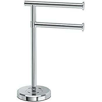 countertop hand towel stand. Perfect Stand Gatco 1472C Latitude II Minimalist Bathroom Counter Top 2Arm Pivot Hand  Towel Holder Inside Countertop Stand N