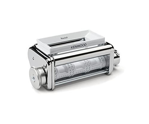 Kenwood KAX93.A0ME-Accesorio para Robot de Cocina (Incluye Embudo, Cuchara y Cepillo de Limpieza, Carcasa de Acero Inoxidable cromada)