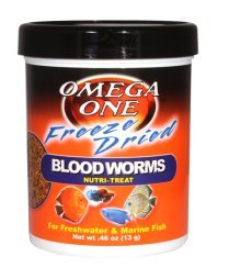 Buy live bloodworms fish food