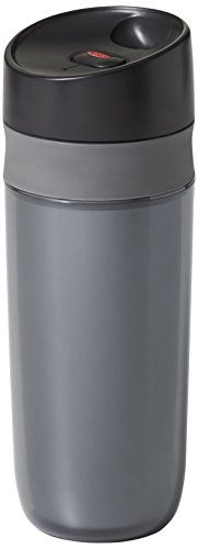 OXO Good Grips Double Wall Travel Mug, Graphite- 15 ounce by OXO