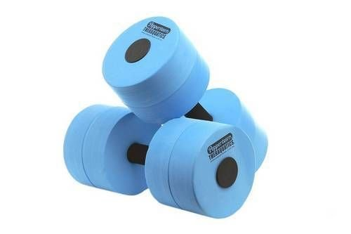 Pool Dumbbell Water Weight Heavy Hydro Therapy Aquatic Rehabilitation