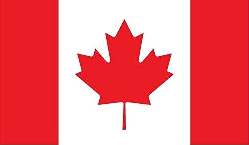 cal Sticker Canadian Car Bumper Window Mari usque ad Mare 5-inch by 3-inch Premium Quality UV Resistant Laminate JMM021 ()