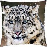 Snow Leopard - Throw Pillow Cover Case ()