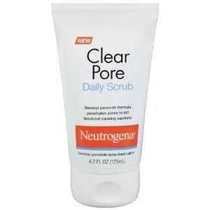 Neutrogena Clear Pore Scrub 4 2 Ounces