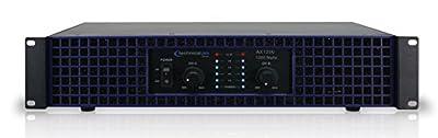 New Technical Pro AX1200 1200 Watt 2-Channel Amplifier 2U Rack DJ Power Amp by TECHNICAL PRO