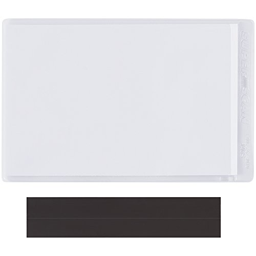Partners Brand PLH143 SUPERSCAN Magnetic Vinyl Envelopes, 4