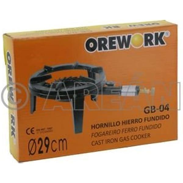 Orework 356736 Gb04 Hornillo Hierro Fundido: Amazon.es: Jardín