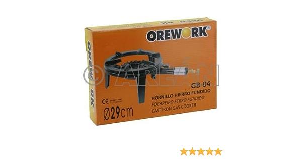Orework 356736 Gb04 Hornillo Hierro Fundido