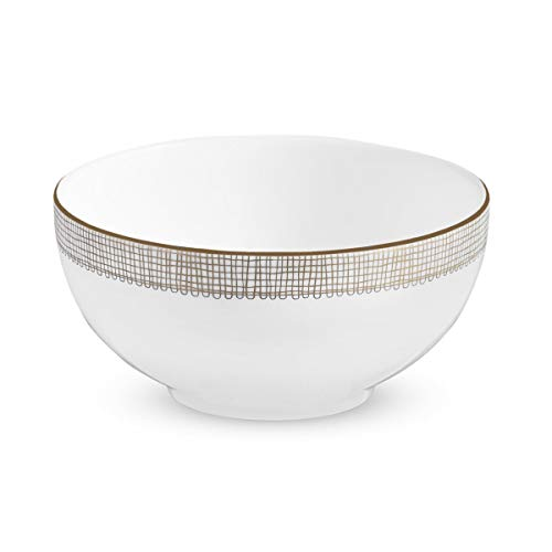 Vera Wang Wedgwood Gilded Weave Soup/Cereal Bowl