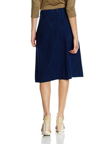 Marc O'Polo, Falda para Mujer Azul (moody blue 857)