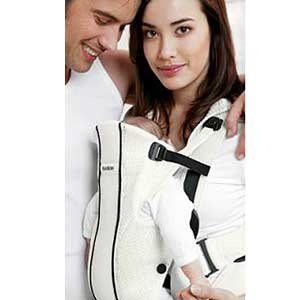 68befd906a1 Amazon.com   Baby Bjorn Synergy Carrier - White   Child Carrier Front Packs    Baby