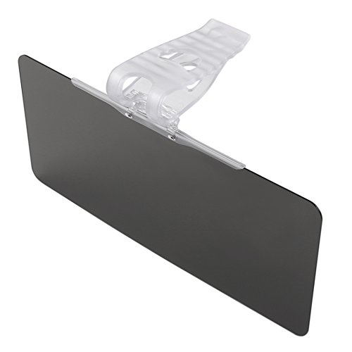 Sun Visor for Car Windshield, Car Anti-Glare Tinted Windshield Extender - Anti-Glare Sun & UV Rays Block Visor Extender for Any Car, Truck or RV