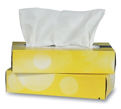 Brighton Professional Facial Tissue - Flat Box (2-ply) (6 Boxes) - AB-310-1-11