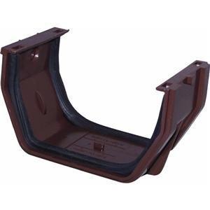 Gutter Slip Joint - Raingo RB105 Brown Gutter Slip Joint