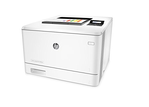 HP Laserjet Pro M452nw Wireless Color Printer, (CF388A) 3 FEATURES DESIGNED FOR YOUR BUSINESS: color laser printer, color touchscreen, wireless printing, 2-sided printing PRINT AT BUSINESS SPEED: Print up to 28 pages per minute with this wireless laser printer. First page out in as fast as 8.9 seconds for black, and 9.5 seconds for color. SOLID SECURITY: Protect sensitive information and improve compliance with data, device and document security solutions for your print fleet.