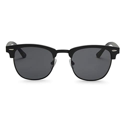 4747040cc252b4 ADE Clubmaster Sunglasses for Men - Stylish Semi Rimless Club Master Glasses  with UV Sun Protection
