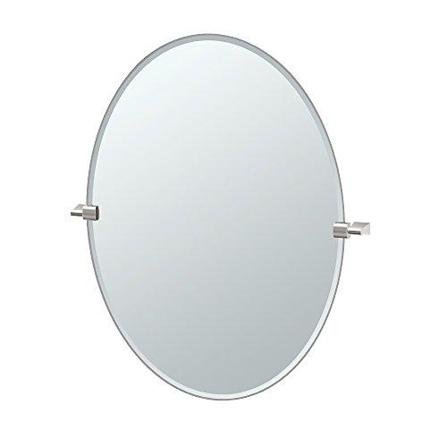 - Gatco 4389LG Bleu, Large Oval Mirror