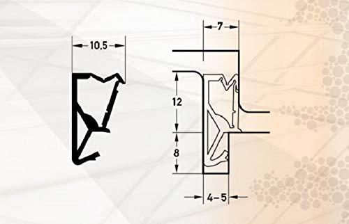 Fensterdichtung Fl/ügel-Rahmendichtung S-6624 Fl/ügelfalzdichtung T/ürdichtung