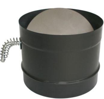8 inch stove pipe damper - 1