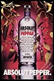 --PRINT AD-- For 1992 Absolut Vodka Absolut Pepper --PRINT AD--
