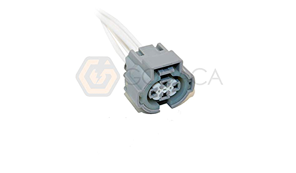 4 Way TS Connector Plug Kit Gray 90980-10942 for Toyota A//C connections