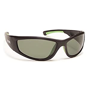 Coyote Eyewear FP-69 Floating Polarized Sunglasses, FFP/Matte Black/G