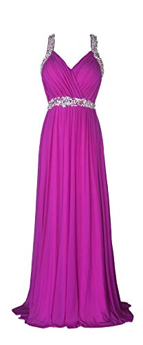 conail Coco Women's Elegant Royal Formal Dresses Wear Long Wedding Party Gowns (S, 30Lavender)