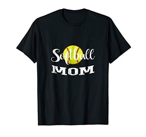 Softball Mom T-Shirt | Softball Mom Gifts