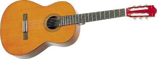 Yamaha CS40 3/4-Scale Classical Guitar Bundle with Gig Bag, Tuner, Strings, String Winder, Austin Bazaar Instructional DVD, and Polishing Cloth