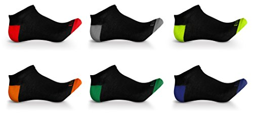 Men's Athletic Low Cut No show ankle Boat socks Ultimate Fashion Everyday Casual Athletic Pack of 24 Assorted pairs by J&S Apparel (Image #2)