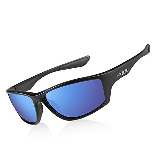 Cool Change Polarized Sports Sunglasses TR90 Lightweight Frame|UV400 Protection|Ergonomic Fit Sport Glasses for Men Women