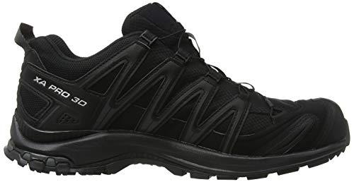 Men's Shoes Trail Pro Running GTX Black 3D XA Salomon B0dwHqH