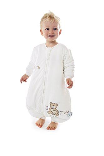 Slumbersafe Winter Bamboo Sleeping Bag with Feet 3.5 Tog I Love Teddy 18-24 Months