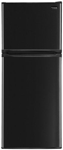 Frigidaire FFHT10F2LB9.9 Cu. Ft. Black Counter Depth Top Freezer Refrigerator - Energy Star