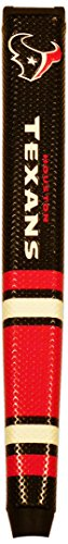 (Team Golf NFL Houston Texans Golf Putter Grip with Removable Gel Top Ball Marker, Durable Wide Grip & Easy to Control )