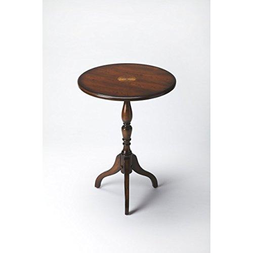 Butler Specialty Company 3512024 Pedestal Table Archambault Plantation, Cherry Butler Specialty Company Pedestal
